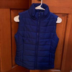 NWT Blue Aeropostale Vest Size XS